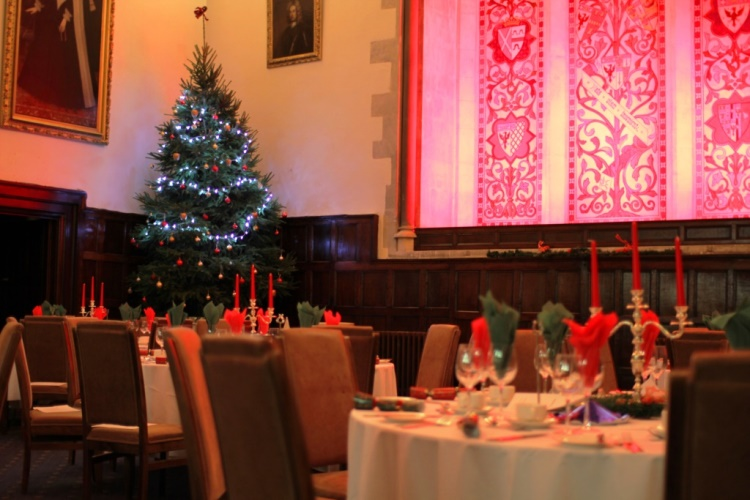 Christmas Parties at Bisham Abbey Buckinghamshire